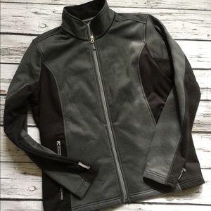 Eddie Bauer Black Grey Sweatshirt XL
